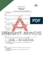 Spm Biology Paper 3 Analysis