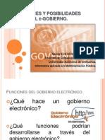 Funciones y Posibilidades Del E-gobierno