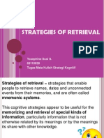 Strategies of Retrieval