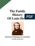 The Family History of Louis Hetet - He Korero Whakapapa No Louis Hetet