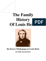 The Family History of Louis Hetet - He Korero Whakapapa No Louis Hetet