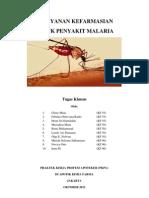 Pelayanan Kefarmasian Untuk Penyakit Malaria