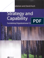 Blackwell,.Strategy and Capability - Sustaining Organizational Change.[2003.ISBN0631228454]