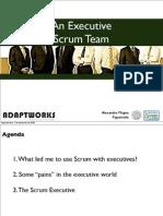 An Executive Scrum Team
