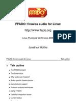 Lpc2008 Ffado Talk