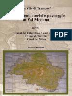 2000 Moreno Baccichet Insediamenti Storici e Paesaggio in Val Meduna 1 Parte