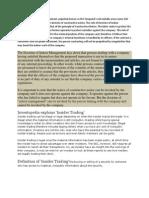 The Doctrine of Indoor Management