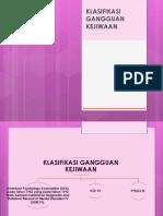 Klasifikasi GJ