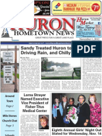 Huron Hometown News - November 1, 2012
