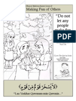 Quranic Lesson 42 - Making Fun of Others