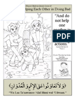Quranic Lesson 43 - Not Helping Each Other in Doing Bad