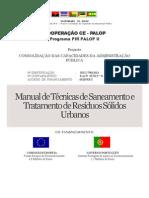 Manual TecnicasSaneamentoTratResiduosSolidosUrbanos