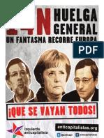 Periodico Huelga General 14 Noviembre 2012 Izquierda Anticapitalista