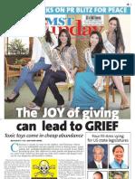 Manila Standard Today -- Sunday (November 04, 2012) issue