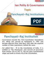 11 (B) Panchayati-Raj