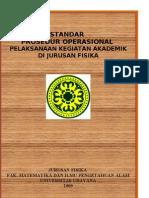 Prosedur Operasional Standar