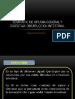 SEMINARIO DE OBSTRUCCIÓN INTESTINAL 01
