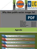 Why Public-sector Mergers Fail