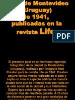 Fotos de Montevideo 1941 (Revista Life)