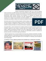 Convocatoria Mapuche Fvtamalon 1881-2012