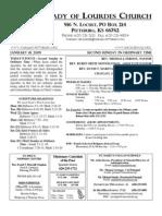 Bulletin Jan 18