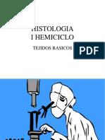 histologìa