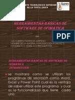 Herramientas básicas de software de ofimática