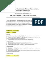 Programa de Comunicaciones