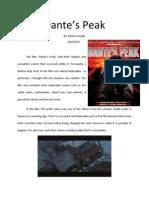 Dante's Peak Essay