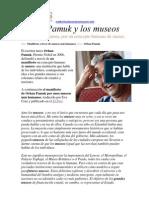 Orhan Pamuk y Los Museos