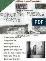 Desinstitucionalización psiquiatrica..