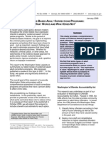 Evidence-Based Adult Corrections Programs