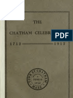 The Two Hundredth Anniversary of the Incorporations of the Town of Chatham, Massachusetts v1