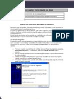 Manual Copias de Seguridad Windows Xp
