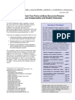 Report to the Joint Task Force on Basic Education Finance