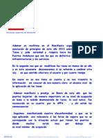 Communicado de ADEMAR Sobre Las Tasas Del Puerto Noviembre 2012