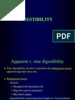Digestibility Trials