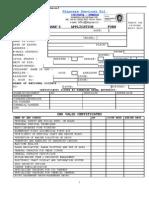 Shipcare Application Form Revision