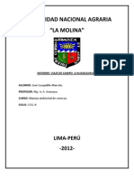 Informe Viaje Huancavelica