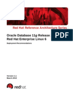 Oracle 11gr2 on Rhel6 0