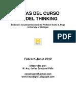 Notas Model Thinking