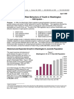 Trends in At-Risk Behaviors of Youth in Washington 1998 Update