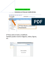 Presentaciones Google Docs