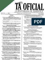 GACETA OFICIAL 40029 Creación y Gestión de PNF en el marco de las misiones Sucre y Alma Mater