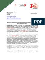 Vestido Rojo - Press Release