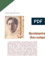 J.Krishnamurti - Apontamentos Sobre Auto conhecimento.pdf