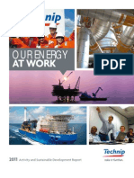 2011 Activity and SD Report TECHNIP