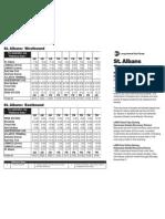 St. Albans Train Schedule