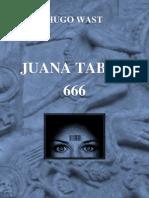 Hugo Wast - Juana Tabor / 666