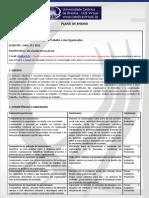 09 - Plano de Ensino - Sociologia do Trabalho e das organizações